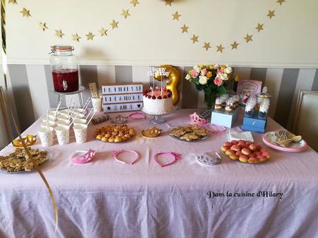 Un anniversaire de princesse - Dans la cuisine d'Hilary