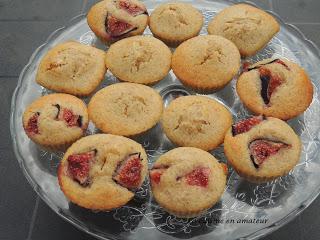 Mini gâteau aux figues et amandes