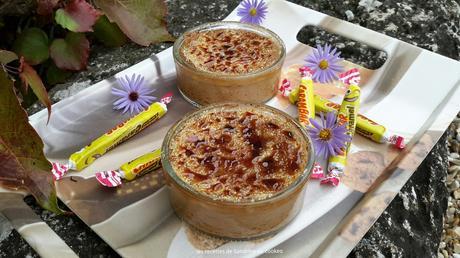 Crème brûlée aux carambars au cookeo