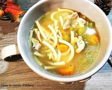 Chicken noodle soup pour soigner les petits maux / Chicken noodle soup to heal