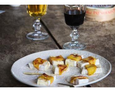 [3 recettes] quand le camembert s'invite à l'apéro !