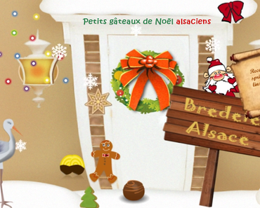 Recettes de biscuits de Noël, Bredele alsaciens, histoire et origine, quiz