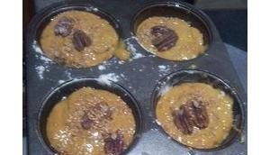 Muffins potiron