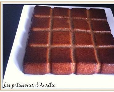 Gâteau au chocolat au lait et amande