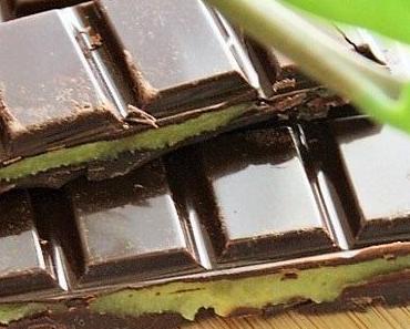 Chocolat noir au lemond curd { végétalien, sans gluten}