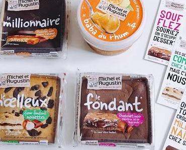 J'ai testé pour vous : les nouveaux desserts pâtissiers Michel et Augustin