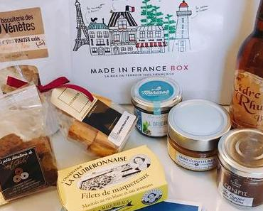 Test box food Novembre 2017 : La Made in France Box (+ code promo)