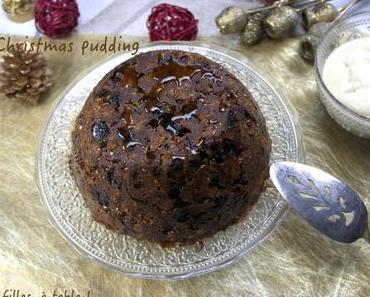 Christmas pudding (façon Jamie Oliver)