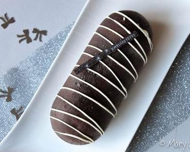 Bûche Chocolat Coeur Orange