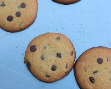 Cookies à la farine de pois chiches