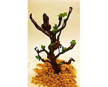 L'arbre chocolat sur un bavarois de François Blestel « La Table de François »