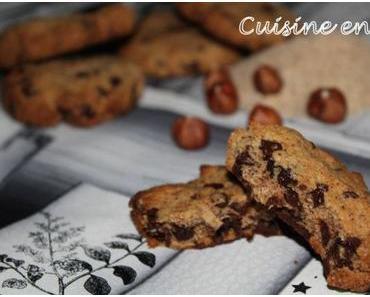Cookies à la farine de noisettes