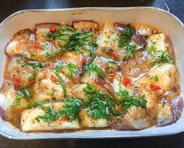 Version vietnamienne – Aubergines au gingembre, cuites à la vapeur