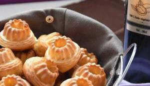 Minis cakes chèvre, miel noix