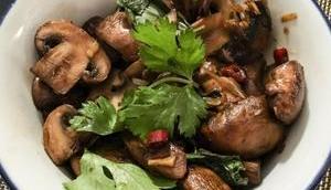 Thaï express Champignons sautés sauce soja