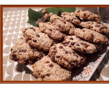 Cookies aux gavottes et noisettes torréfiées