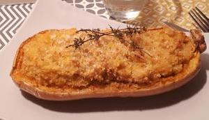 Butternut farcie Quinoa