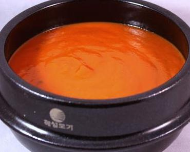 Velouté poivrons - tomates