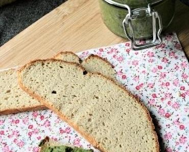 Tartinade aux épinards-pois cassés { sans gluten, sans lait, sans oeufs}