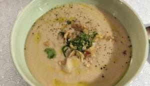Crémeux Soupe haricots blancs