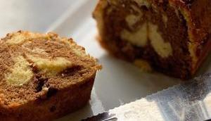 Marbré chocolat vanille façon savane Brossard companion thermomix sans robot