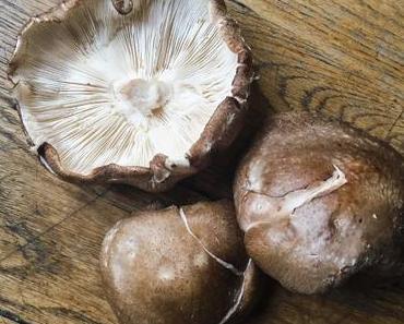 Champignons parfumés – Shiitake poêlés