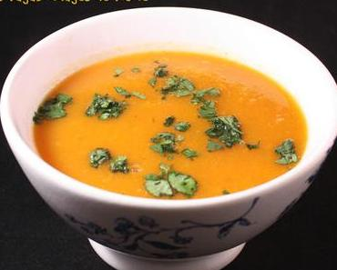 Soupe carottes - butternut