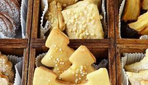 Gâteaux sablés bredele alsaciens