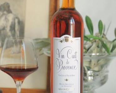 Le Vin cuit de Provence du Mas de Cadenet et les 13 Desserts