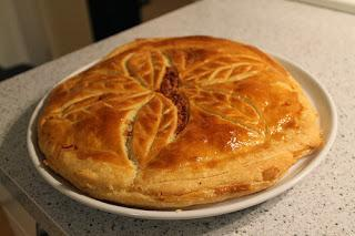Recette de galette des Rois fourrée aux pommes et à la crème vanille (sans frangipane)