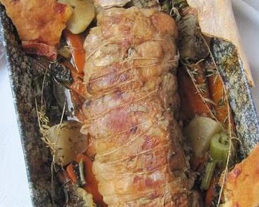 Rôti de porc cuit à l'étouffée (seconde version)