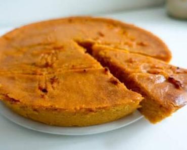Gâteau patates douces fondant