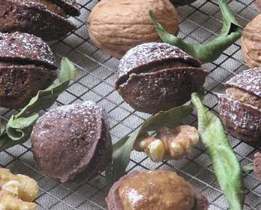 Petits gâteaux en forme de noix