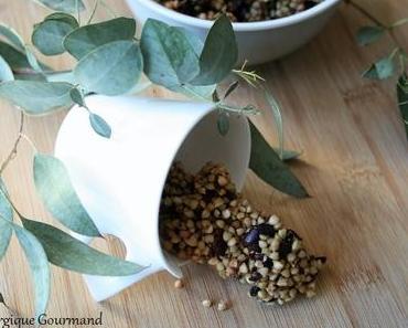 Granola de sarrasin a cacao { sans gluten, sans lait, sans oeufs }