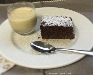 Gâteau mousseux sans sucre aux bananes et chocolat au companion thermomix ou sans robot