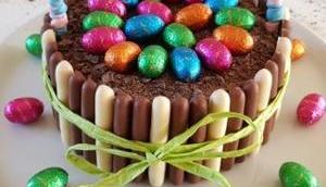 Gâteau panier Pâques