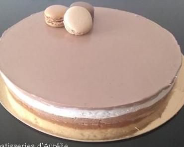 Bavarois à la vanille et chocolat