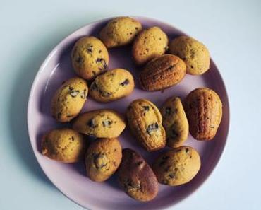 madeleines moelleuses chocolat