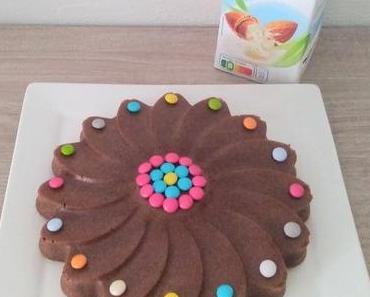 Moelleux au chocolat et lait d'amande