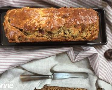 Cake sucré-salé aux figues et au jambon Serrano {d'inspiration Cyril Lignac}