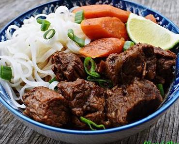 Bò Kho (ragoût de boeuf vietnamien à la citronnelle)