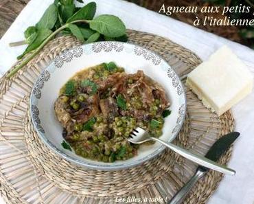 Agneau aux petits pois à l'italienne – Recettes autour d'un ingrédient #51