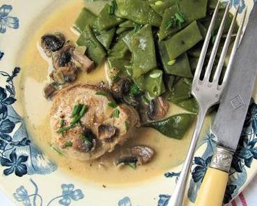 Médaillons de filet mignon au Maroilles & au cidre en Thiérache