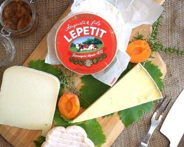 Comment composer son plateau de fromage ...... avec le camembert Le Petit