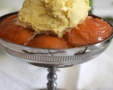 Abricots rôtis au romarin