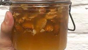 miel fruits secs