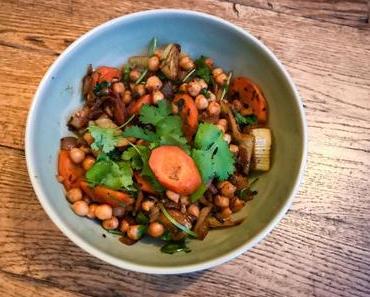 Coup de frais – Curry sec de pois chiches