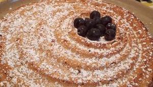 Cake raisins ricotta