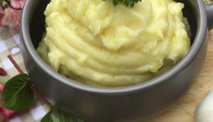 Purée pommes terre l'ail companion thermomix sans robot