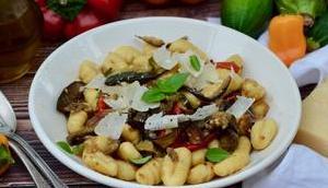 Gnocchis légumes grillés
